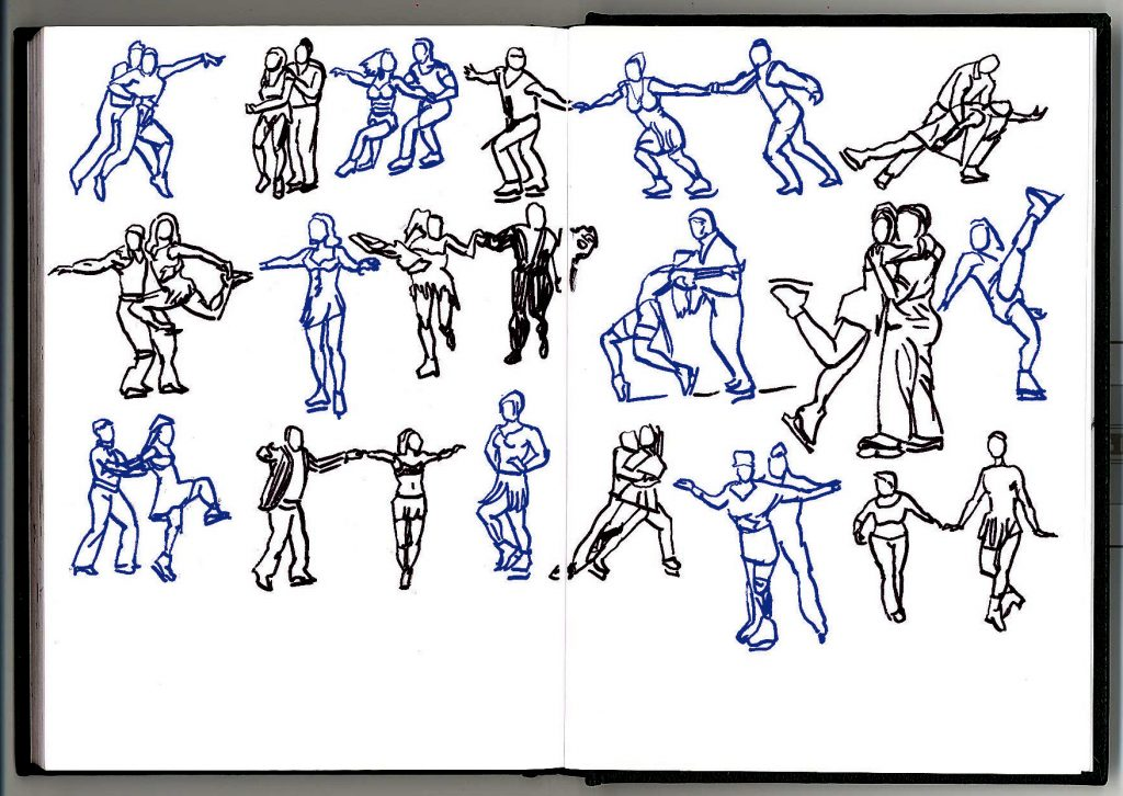 Cold freeze sketches 3